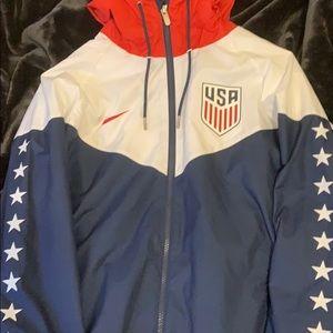Nike USA Windrunner Jacket Medium